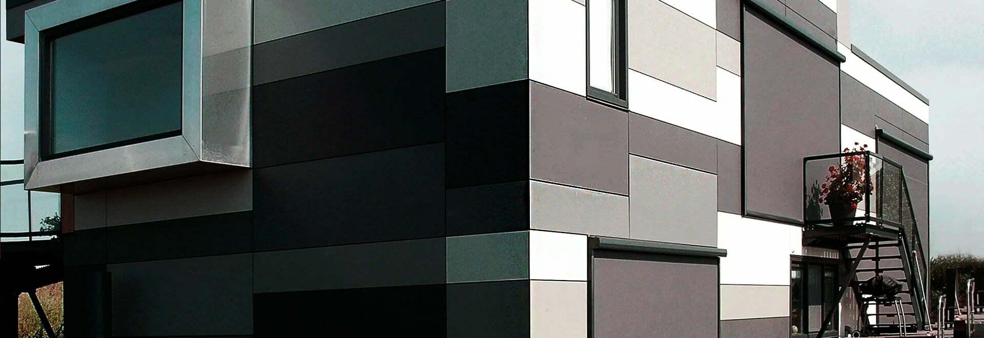 Изготовление и монтаж фасадных металлокассет из аллюминия и стали
